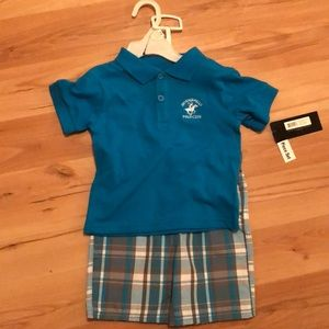 NWT 18 Polo Club 18 Month Outfit